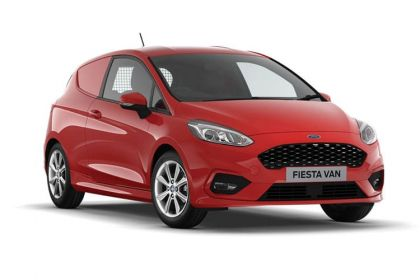 Lease Ford Fiesta van leasing