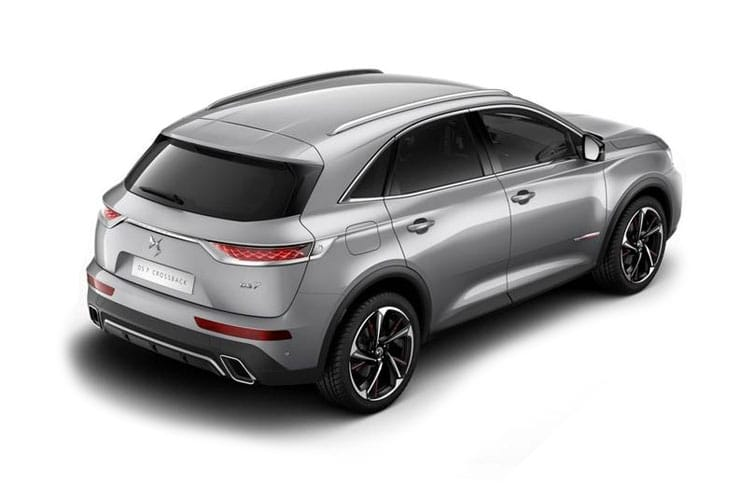 DS Automobiles DS 7 Crossback SUV 5Dr 1.6 E-TENSE PHEV 13.2kWh 225PS Ultra Prestige 5Dr EAT8 [Start Stop] back view