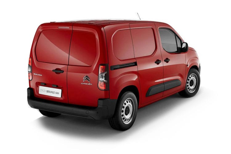 Citroen Berlingo M 1000Kg 1.5 BlueHDi FWD 100PS Enterprise Van Manual [Start Stop] back view