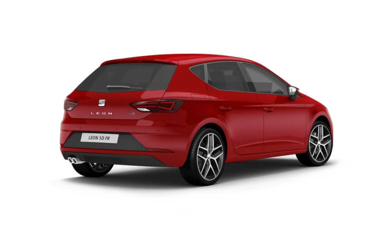 SEAT Leon Hatch 5Dr 1.5 TSI EVO 130PS FR 5Dr Manual [Start Stop] back view