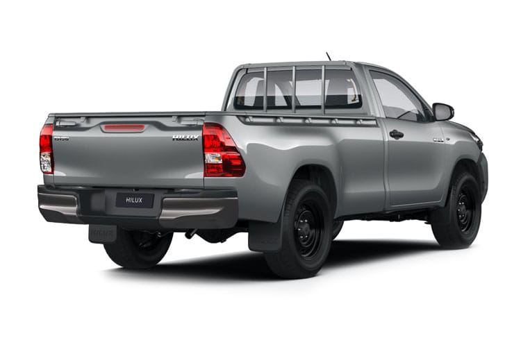 Toyota Hilux PickUp Double Cab 4wd 2.4 D-4D 4WD 150PS Invincible Pickup Double Cab Manual [Start Stop] back view