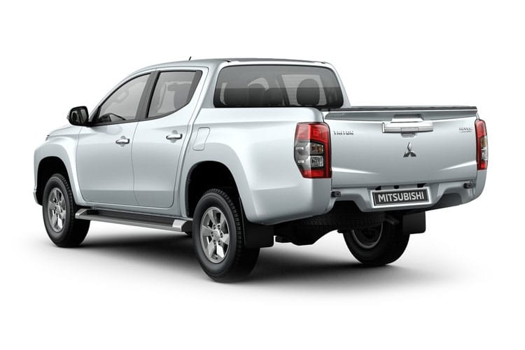 Mitsubishi L200 Pick Up Club Cab 4wd 2.2 DI-D 4WD 150PS 4Life Pickup Double Cab Manual [Start Stop] back view