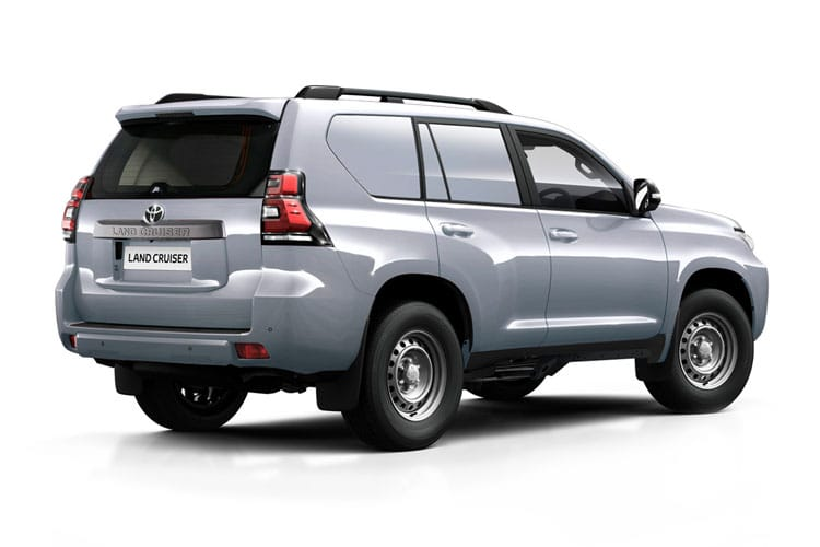 Toyota LandCruiser LCV LWB 4wd 2.8 D 4WD 204PS Active Van Auto [Start Stop] [2Seat Navi] back view