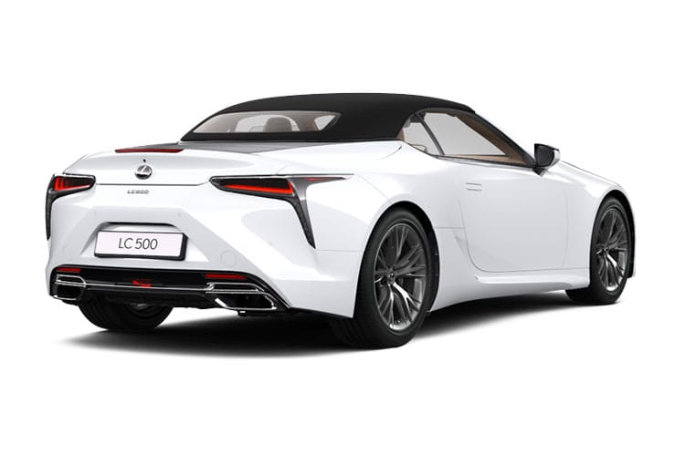 Lexus LC 500 Convertible 5.0 V8 464PS Sport Plus 2Dr Auto back view