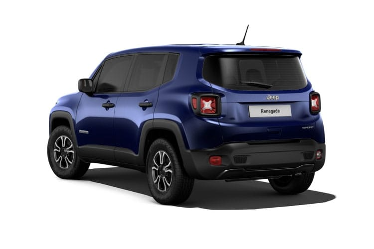 Jeep Renegade SUV 1.0 GSE T3 120PS Limited 5Dr Manual [Start Stop] back view