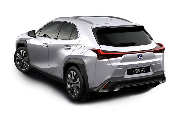 Lexus UX 250h SUV 2.0 h 184PS F-Sport 5Dr E-CVT [Start Stop] back view