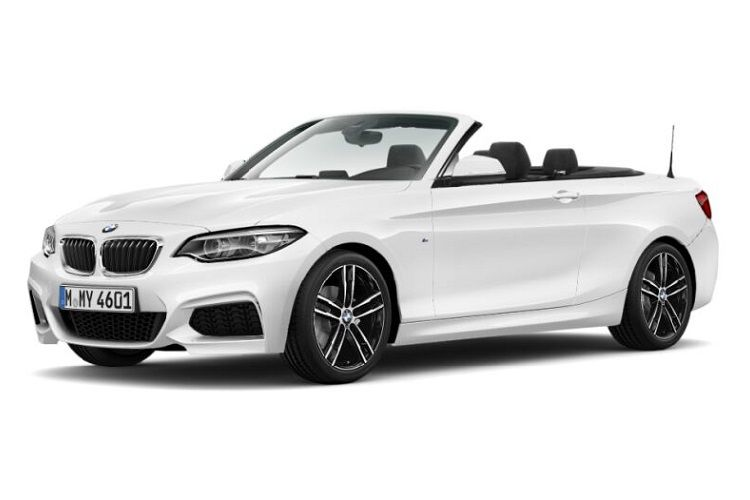 BMW 2 Series 218 Convertible 2.0 d 150PS M Sport 2Dr Auto [Start Stop] front view