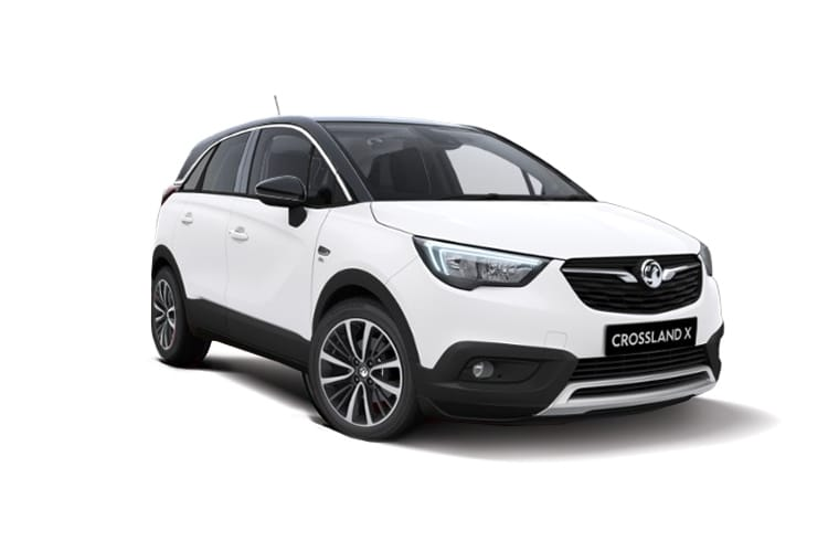 Vauxhall Crossland X SUV 1.2 Turbo ecoTEC 110PS SRi Nav 5Dr Manual [Start Stop] front view