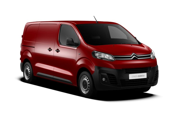 Citroen Dispatch M 1400Kg 2.0 BlueHDi FWD 150PS Driver Van Manual [Start Stop] front view