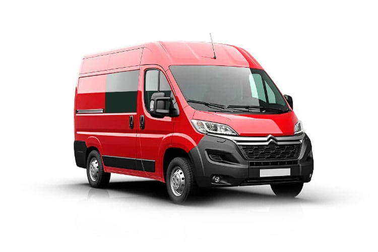 Citroen Relay 35 L3 2.2 BlueHDi FWD 140PS Enterprise Crew Van High Roof Manual [Start Stop] front view