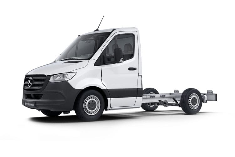 Mercedes-Benz Sprinter 314 L3 3.5t 2.1 CDi RWD 143PS Progressive Chassis Cab G-Tronic [Start Stop] front view