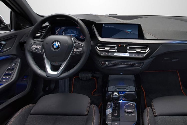 BMW 1 Series 120 xDrive Hatch 5Dr 2.0 d 190PS M Sport 5Dr Auto [Start Stop] inside view