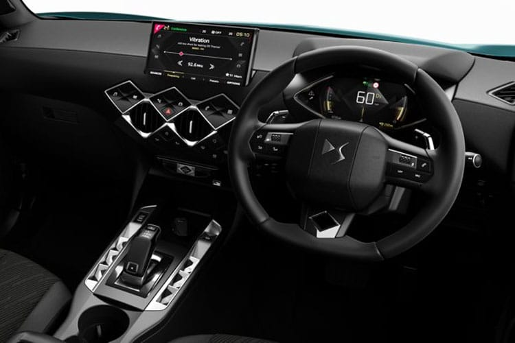 DS Automobiles DS 3 Crossback 5Dr 1.5 BlueHDi 100PS Prestige 5Dr Manual [Start Stop] inside view