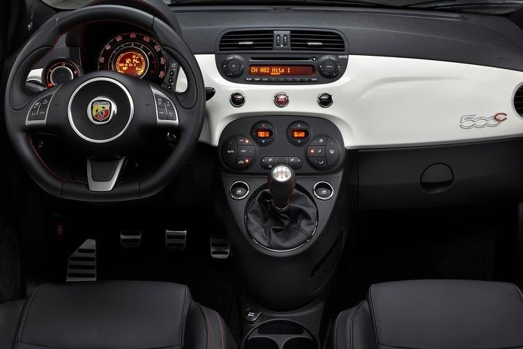 Abarth 595 C Cabrio 1.4 T-Jet 145PS  2Dr Manual inside view
