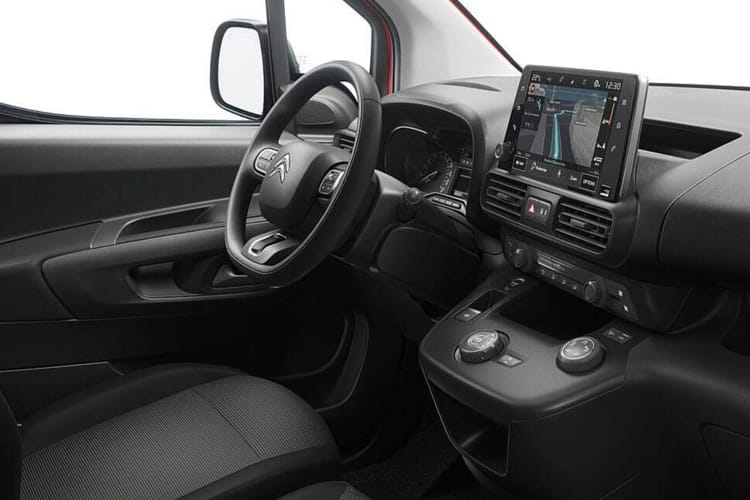 Citroen Berlingo M 650Kg 1.5 BlueHDi FWD 75PS X Van Manual inside view