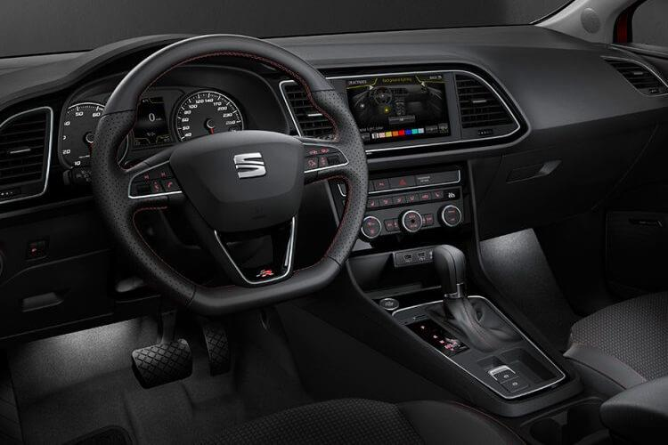 SEAT Leon Hatch 5Dr 1.5 TSI EVO 130PS FR 5Dr Manual [Start Stop] inside view