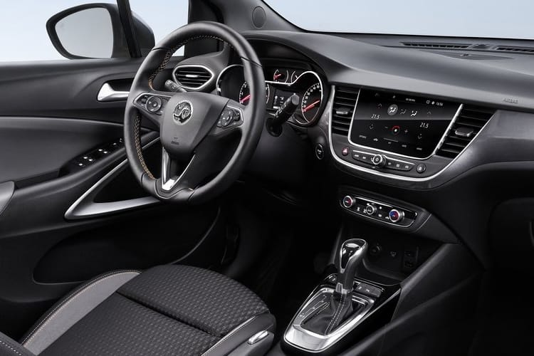 Vauxhall Crossland X SUV 1.5 Turbo D 120PS Griffin 5Dr Auto [Start Stop] inside view
