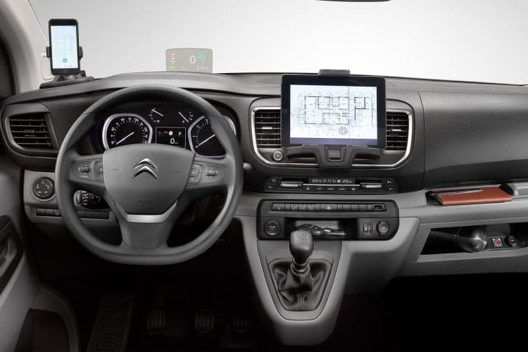 Citroen Dispatch M 1400Kg 2.0 BlueHDi FWD 150PS Driver Van Manual [Start Stop] inside view
