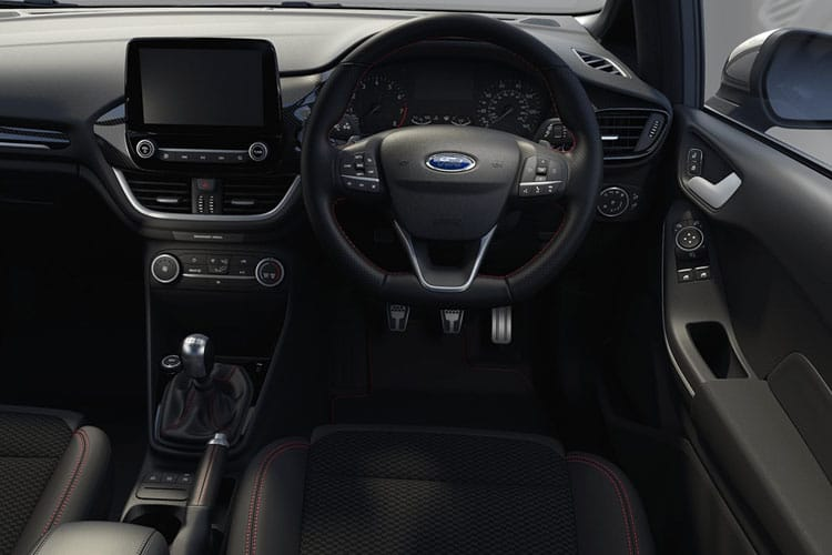 Ford Fiesta Hatch 3Dr 1.0 T EcoBoost MHEV 125PS ST-Line Edition 3Dr Manual [Start Stop] inside view