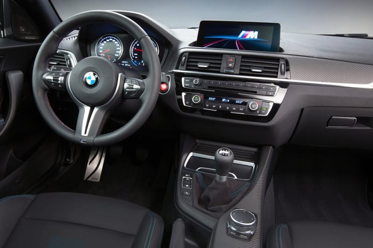 BMW 2 Series M2 Coupe 3.0 BiTurbo 450PS CS 2Dr Manual [Start Stop] inside view