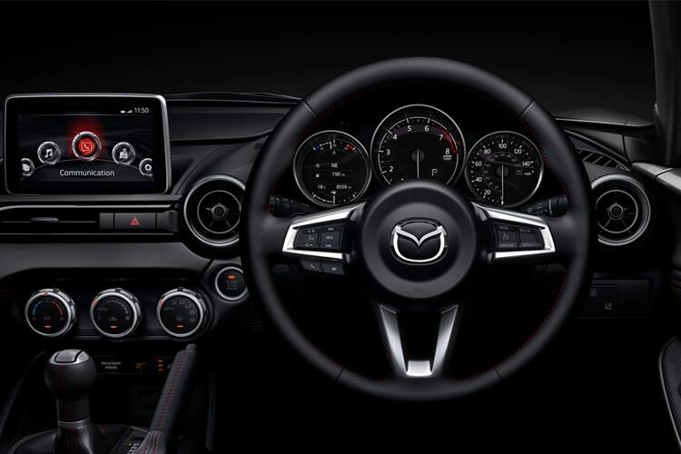 Mazda MX-5 RF 2.0 SKYACTIV-G 184PS Sport Tech 2Dr Manual [Start Stop] inside view