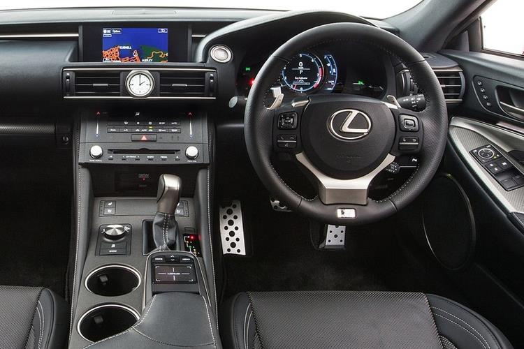 Lexus RC F Coupe 5.0 V8 463PS  2Dr Auto [Track SRoof Levinson] inside view