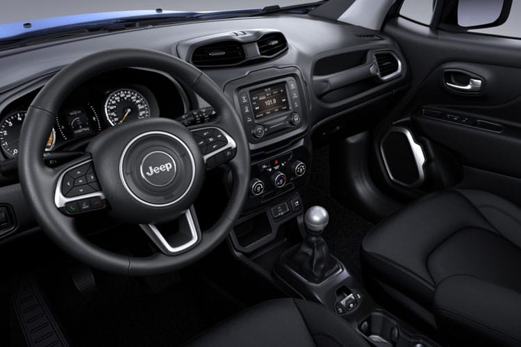 Jeep Renegade SUV 1.0 GSE T3 120PS Limited 5Dr Manual [Start Stop] inside view