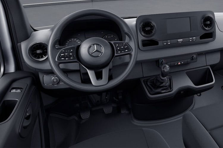 Mercedes-Benz Sprinter 314 L3 3.5t 2.1 CDi RWD 143PS Progressive Chassis Cab G-Tronic [Start Stop] inside view