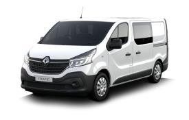 Renault Trafic Crew Van 30 LWB 2.0 dCi ENERGY FWD 120PS Business+ Crew Van Manual [Start Stop]