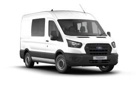 Ford Transit Crew Van 350 L3 2.0 EcoBlue FWD 170PS Trend Crew Van Medium Roof Manual [Start Stop] [DCiV]